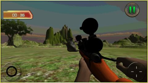 狩猎游戏中的动物